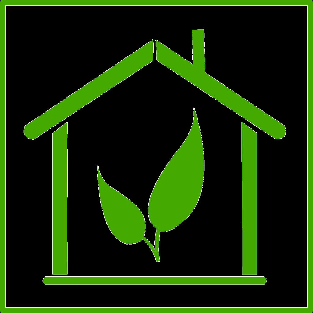 symbole de la maison écologique