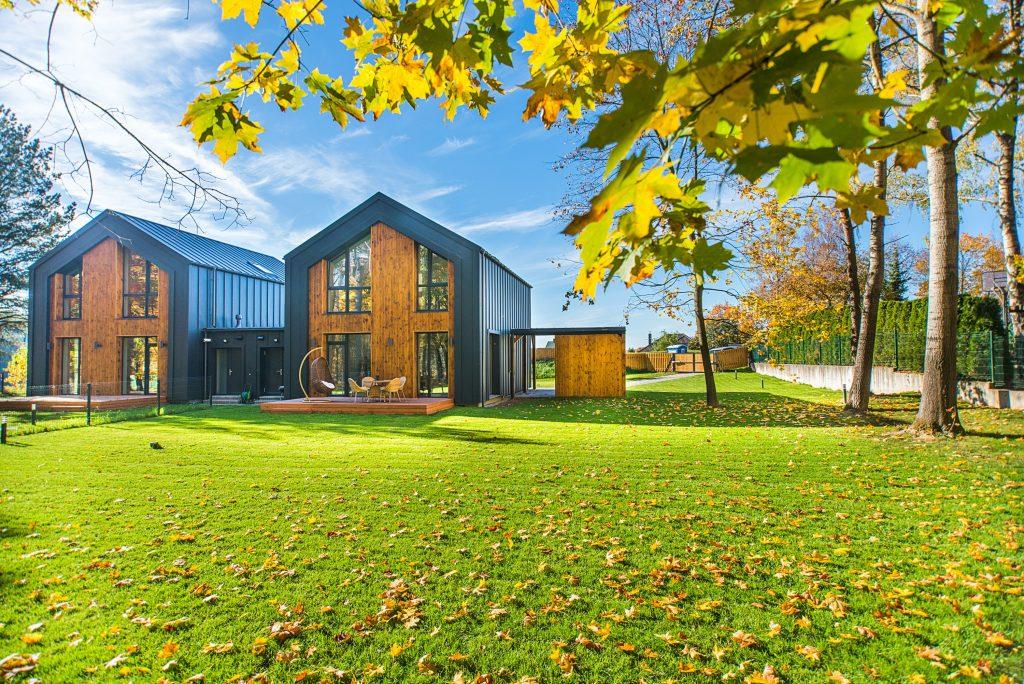 Maison passive en bois pour faire des économies d'énergie
